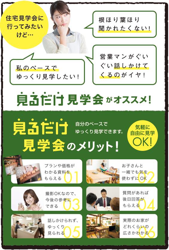 見るだけ見学会6月10(土)〜14(水)
